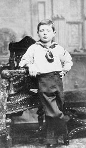 Winston Churchill aged 6